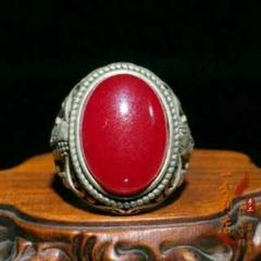 "Thumbnail of ""天然の宝石,男性の指輪,銀座,925シルバー,骨董品3U"""