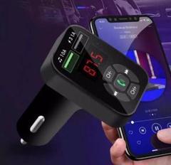 """Thumbnail of """"FMトランスミッター Bluetooth接続 シガーソケット ハンズフリー /"""""""