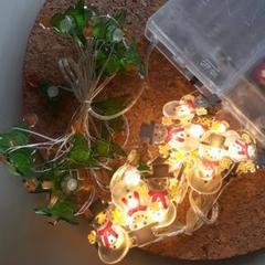 """Thumbnail of """"新品☆クリスマスイルミネーション☆雪だるま&もみの木LEDライト☆サンタクロース"""""""