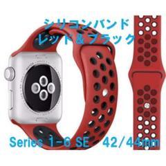 """Thumbnail of """"applewatch アップルウォッチ スポーツ レッドブラック 42/44"""""""