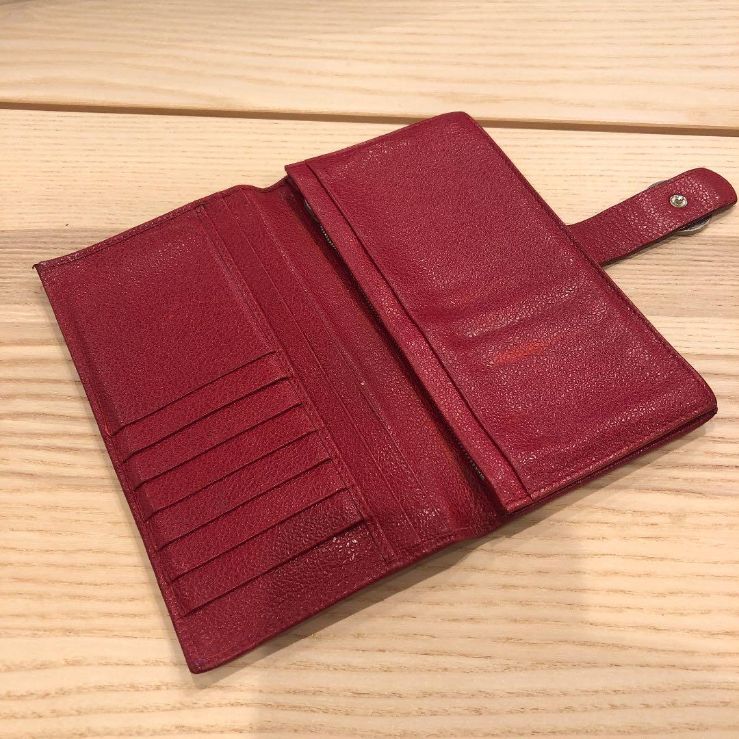 premium selection 56bba 9a62f ブルガリレディース長財布 レッド(¥3,800) - メルカリ スマホでかんたん フリマアプリ