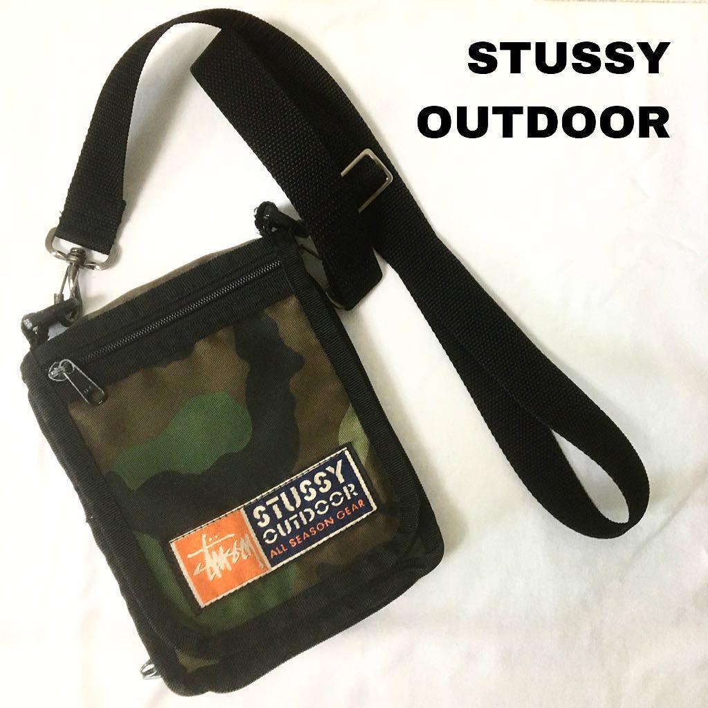 cd31fdbd73c6 メルカリ - STUSSY OUTDOOR USA ショルダーポーチ ステューシー 90ss ...