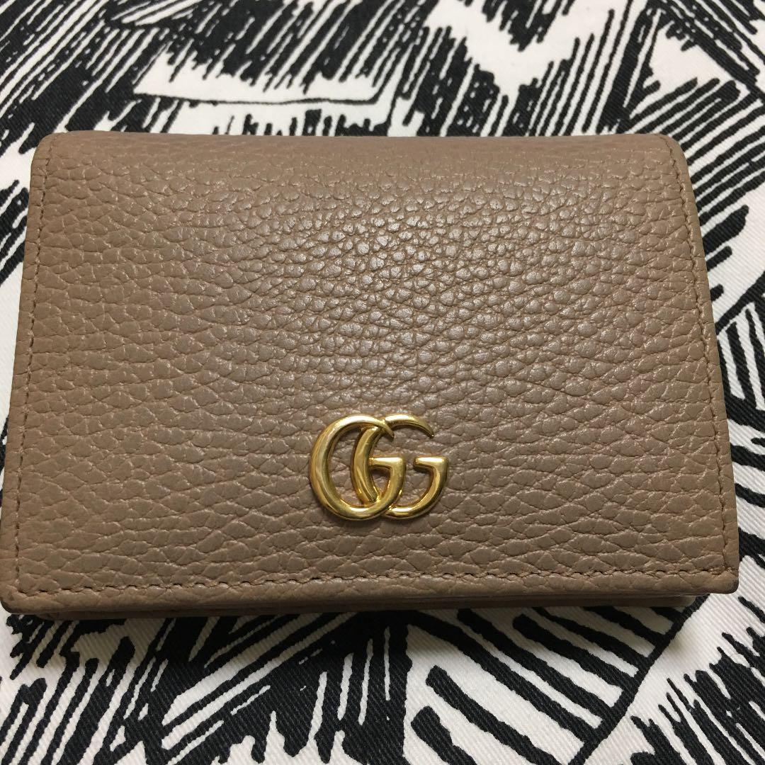 new product 6d916 c1500 グッチ ミニ財布 カードケース マーモント(¥18,000) - メルカリ スマホでかんたん フリマアプリ