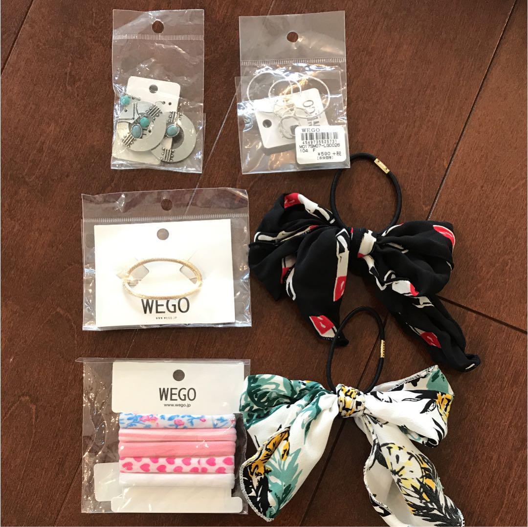 値下げ WEGO ヘアアクセサリー イヤリング ピアス(¥350) , メルカリ スマホでかんたん フリマアプリ