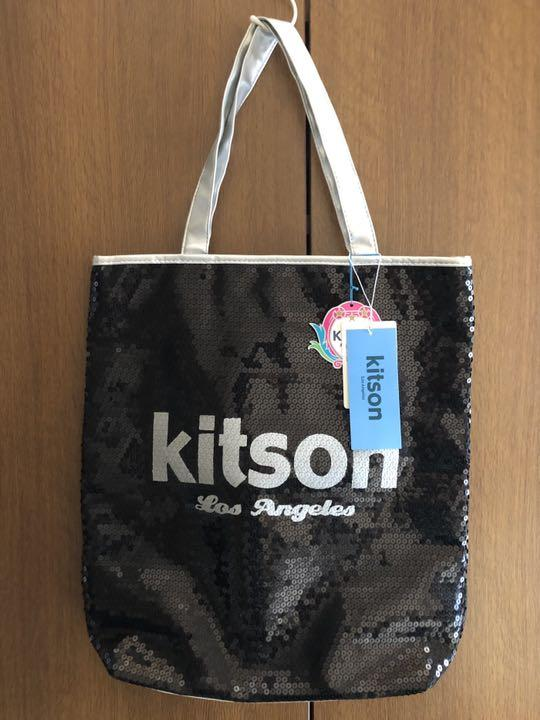 146d56fe9fb8 メルカリ - kitsonキットソンスパンコールバッグ 【トートバッグ ...