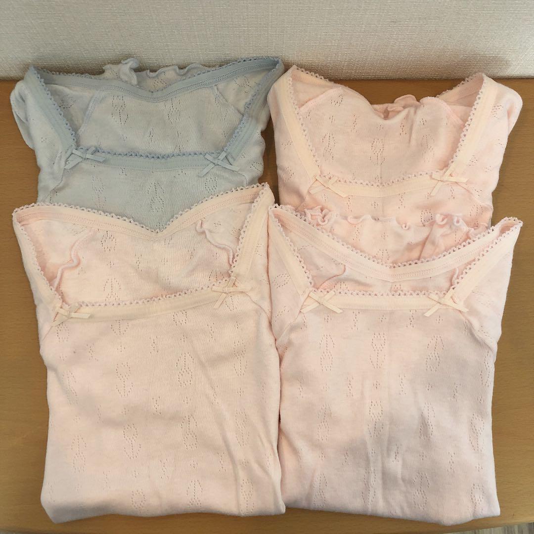 56b862fbd4d6c メルカリ - シャルレ C4U 半袖下着 4枚セット  キッズ服(女の子用 ...