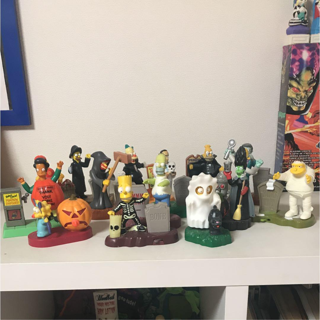 The Simpsons Spooky Light Up Completed
