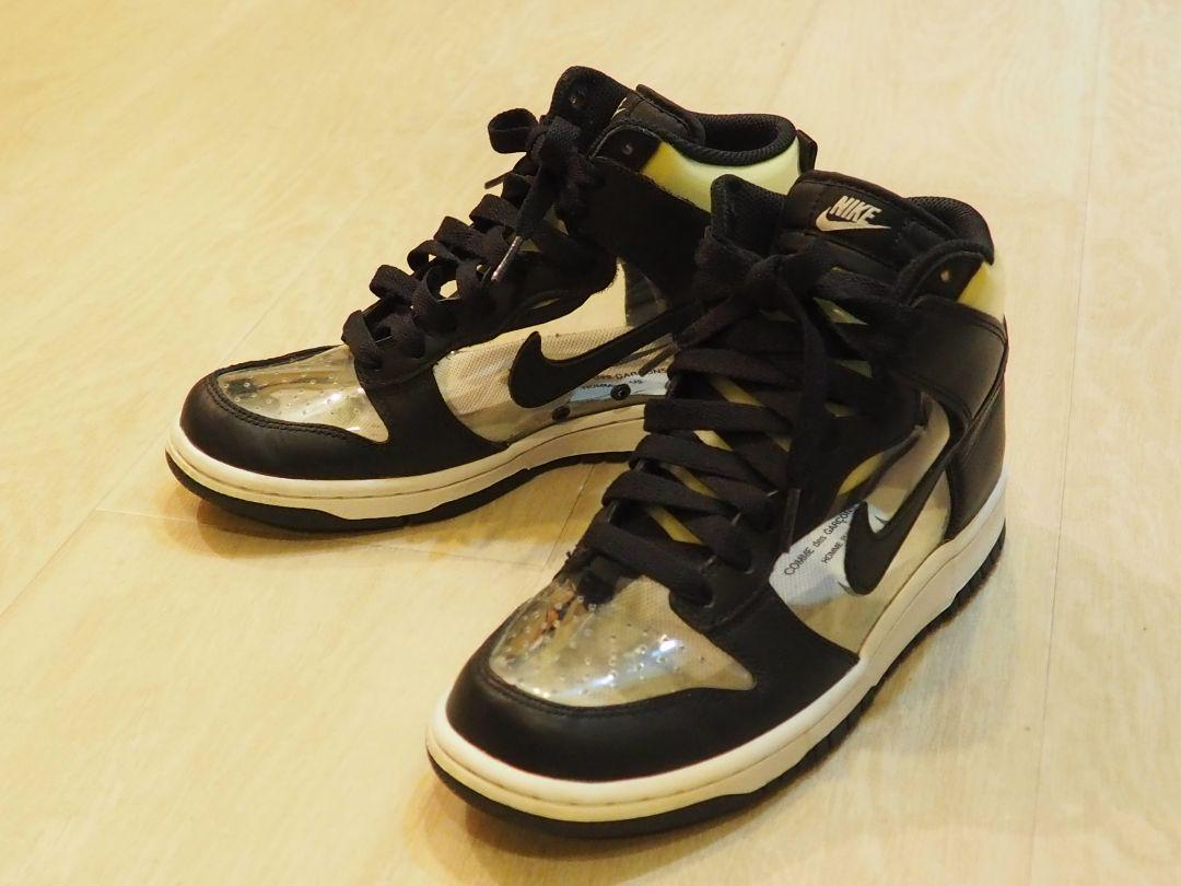 on sale 01a6c 83383 COMME des GARCONS × NIKE DUNK HIGH(¥27,500) - メルカリ スマホでかんたん フリマアプリ