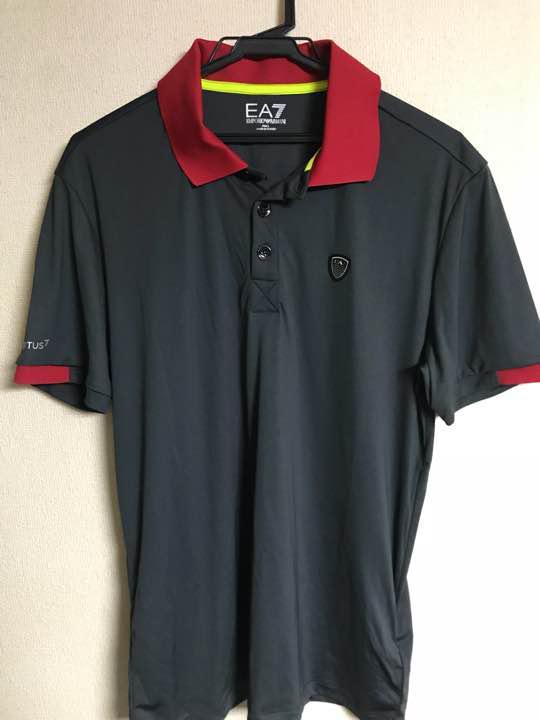 factory authentic 459b3 ca4fc 新品未使用 エンポリオアルマーニ ポロシャツ EA7 ゴルフ メンズ(¥ 5,000) - メルカリ スマホでかんたん ...