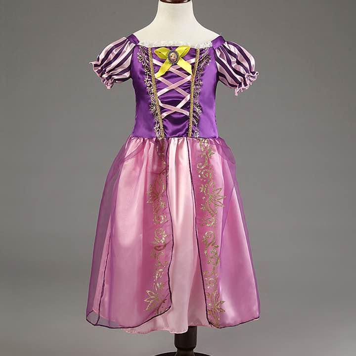 923f062a3837a メルカリ - ラプンツェル ドレス 140cm ワンピース シンデレラ 子供用 ...