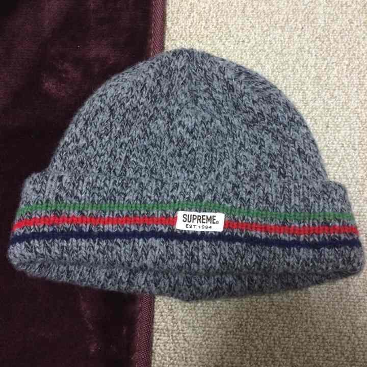 5a2d27e721c メルカリ - ragg wool beanie Supreme 12aw  ニットキャップ ビーニー ...