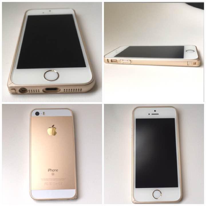 f00b44112b メルカリ - iPhone SE/5s/5用 アルミバンパー ゴールド 【iPhone用ケース ...