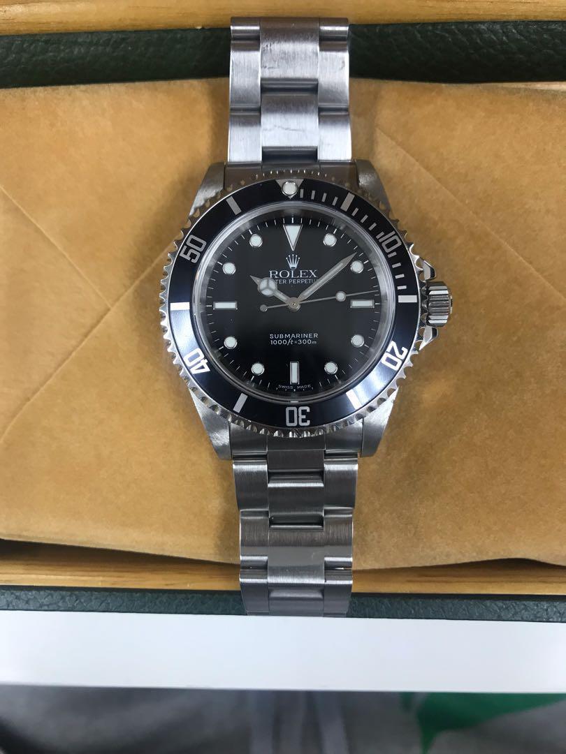 buy popular 23fc8 35c2f ロレックス Rolex サブマリーナ ノンデイト 黒サブ(¥650,000) - メルカリ スマホでかんたん フリマアプリ