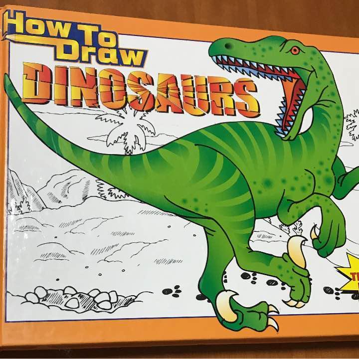 メルカリ 恐竜 イラスト 書き方 絵本 900 中古や未使用のフリマ