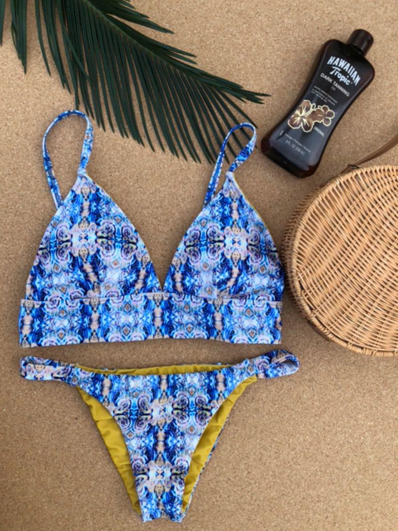 fc634f66d04 メルカリ - casia bikini set 水着ビキニ エスニックブラジリアン ZARA ...