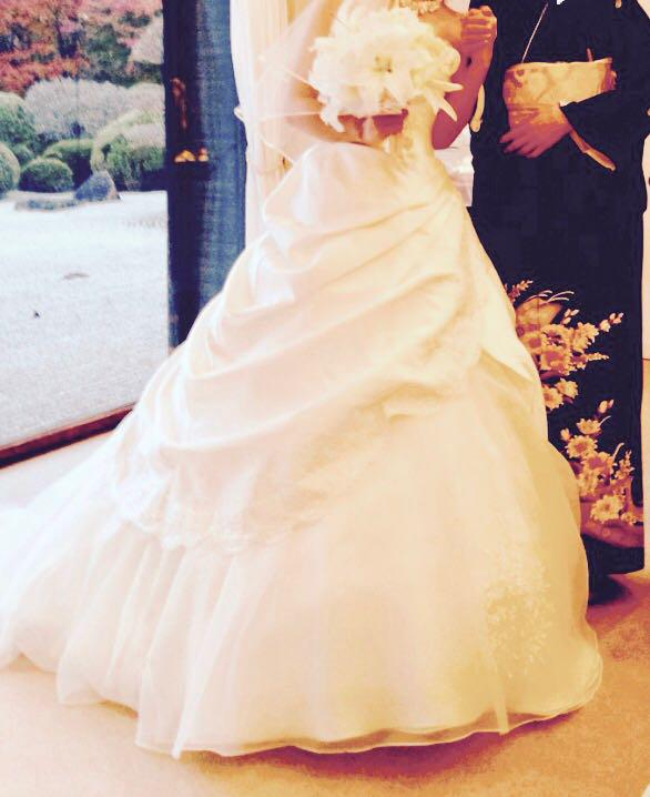 fe8bf2b35ae5f メルカリ - エメ ウェディングドレス aimer  エメ  (¥66