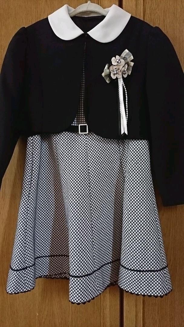 fe3da4981f015 メルカリ - 女の子120 入学式フォーマル ワンピース✨ご卒園・発表会・式 ...