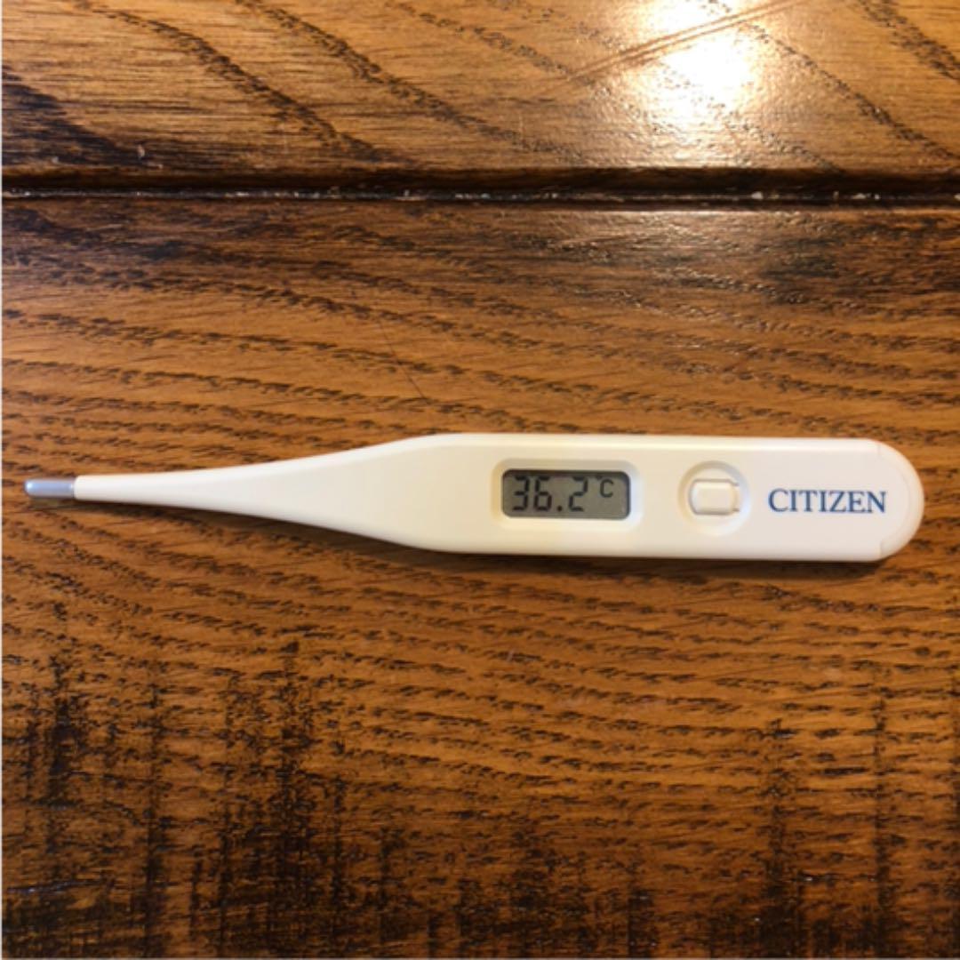 体温計 電池 シチズン