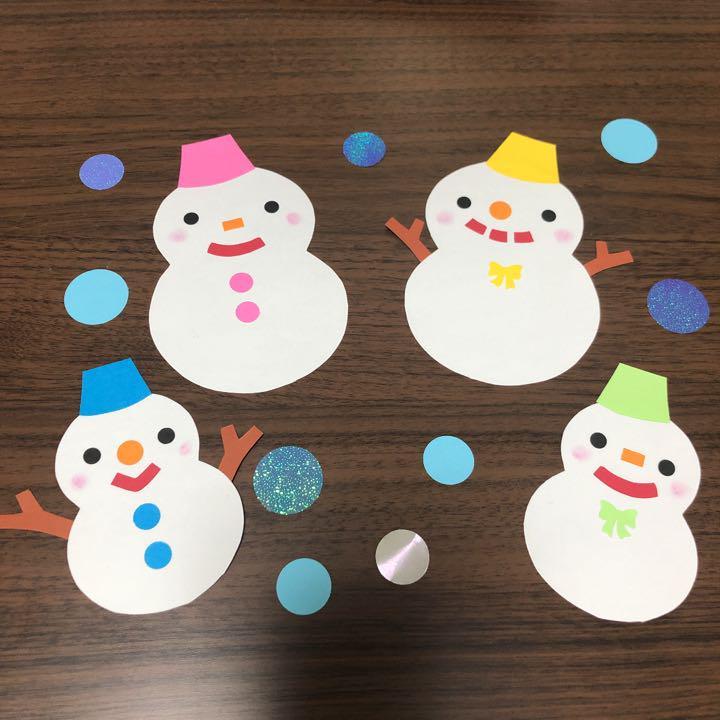 壁面 雪だるま 1月、2月、3月の保育の現場で活用出来る壁紙の10のアイディア