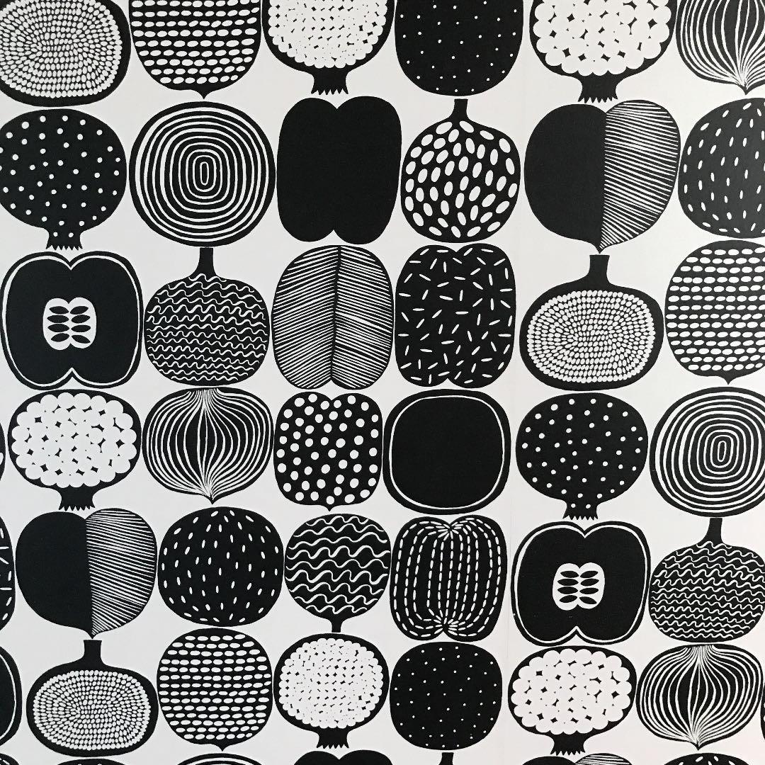 メルカリ マリメッコ壁紙 コンポッティ モノトーン カーテン ブラインド 17 499 中古や未使用のフリマ