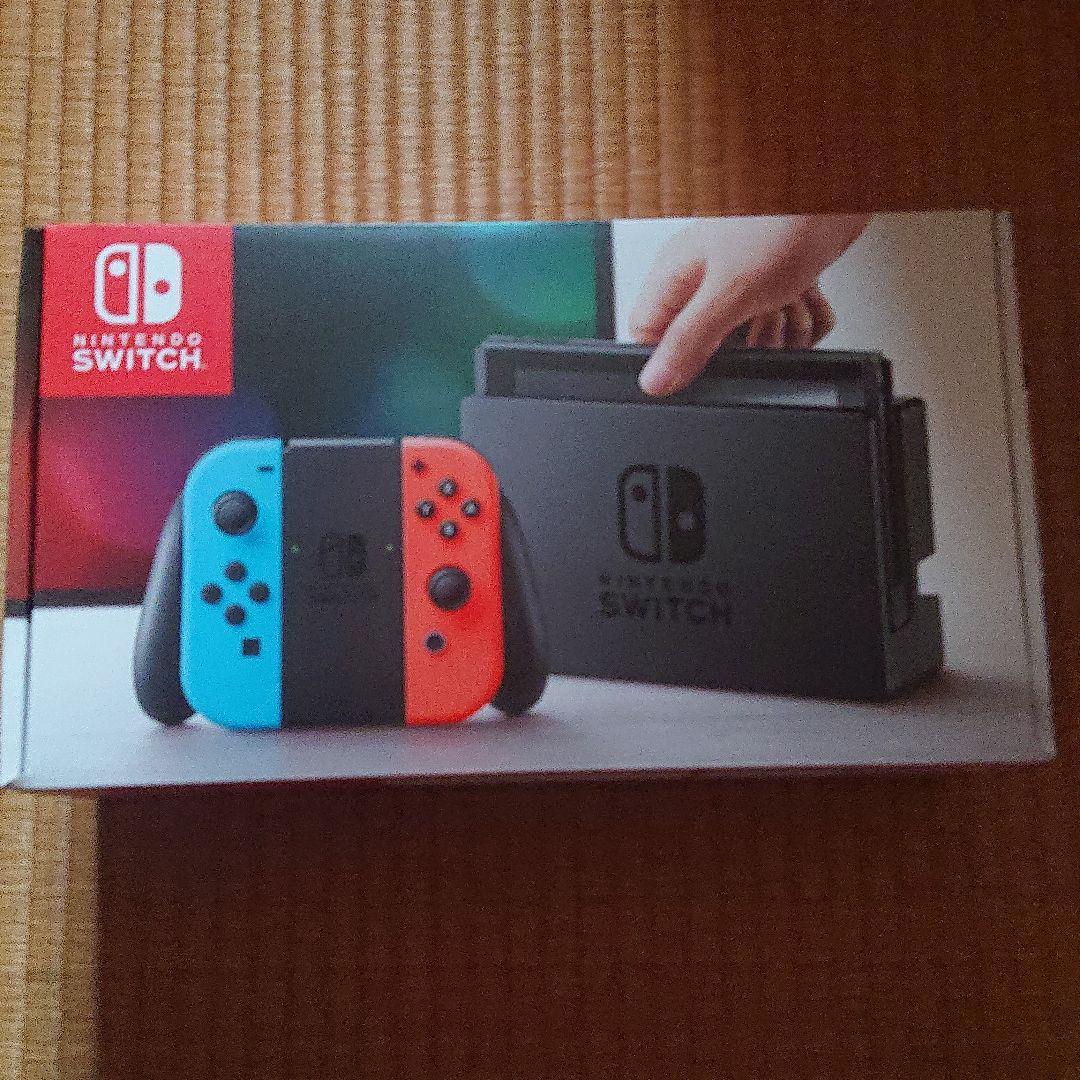 本体 【中古】 【Joy-Con(L) ネオンブルー/(R)ネオンレッド】 Nintendo Switch