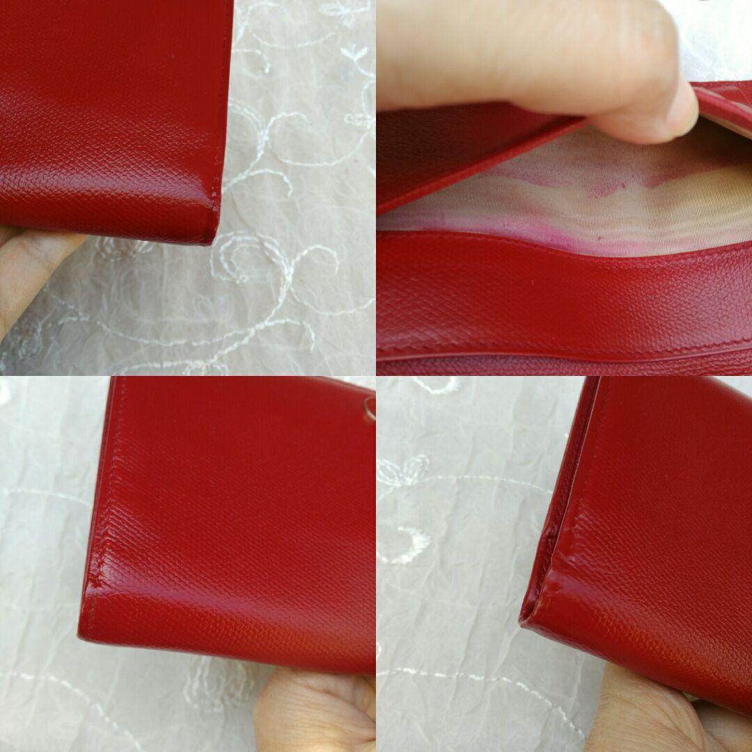 a9035d58d464 メルカリ - ご確認用『10万円(参考価格)シャネルココボタン 赤 長財布 ...