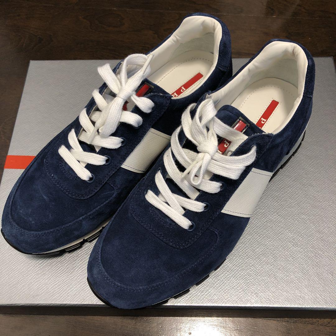 sports shoes 65784 5c669 プラダ スニーカー 靴