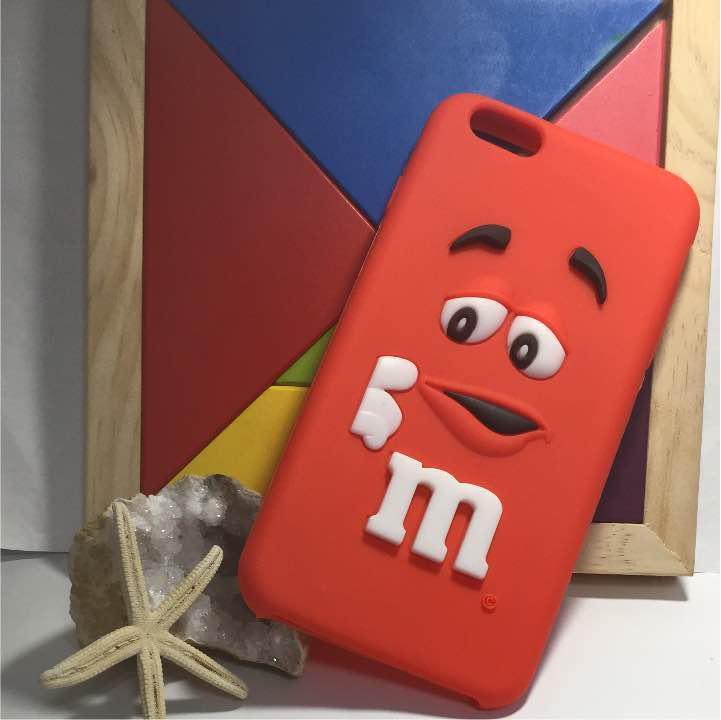 ffd720e8d2 メルカリ - m&m's iphone 6plus 用 シリコンケース カバー 【iPhone用 ...