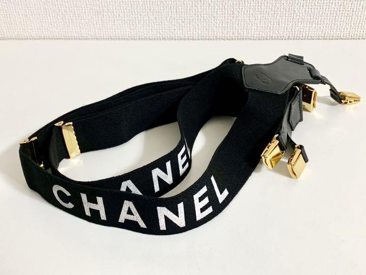 f99508db235a メルカリ - CHANEL シャネル サスペンダー レア 希少 ヴィンテージ ...