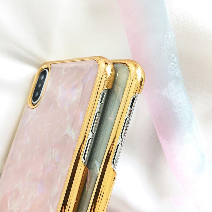 d488729883 メルカリ - 8ホワイト キラキラ シェル柄iPhoneケース 貝殻 【iPhone用 ...