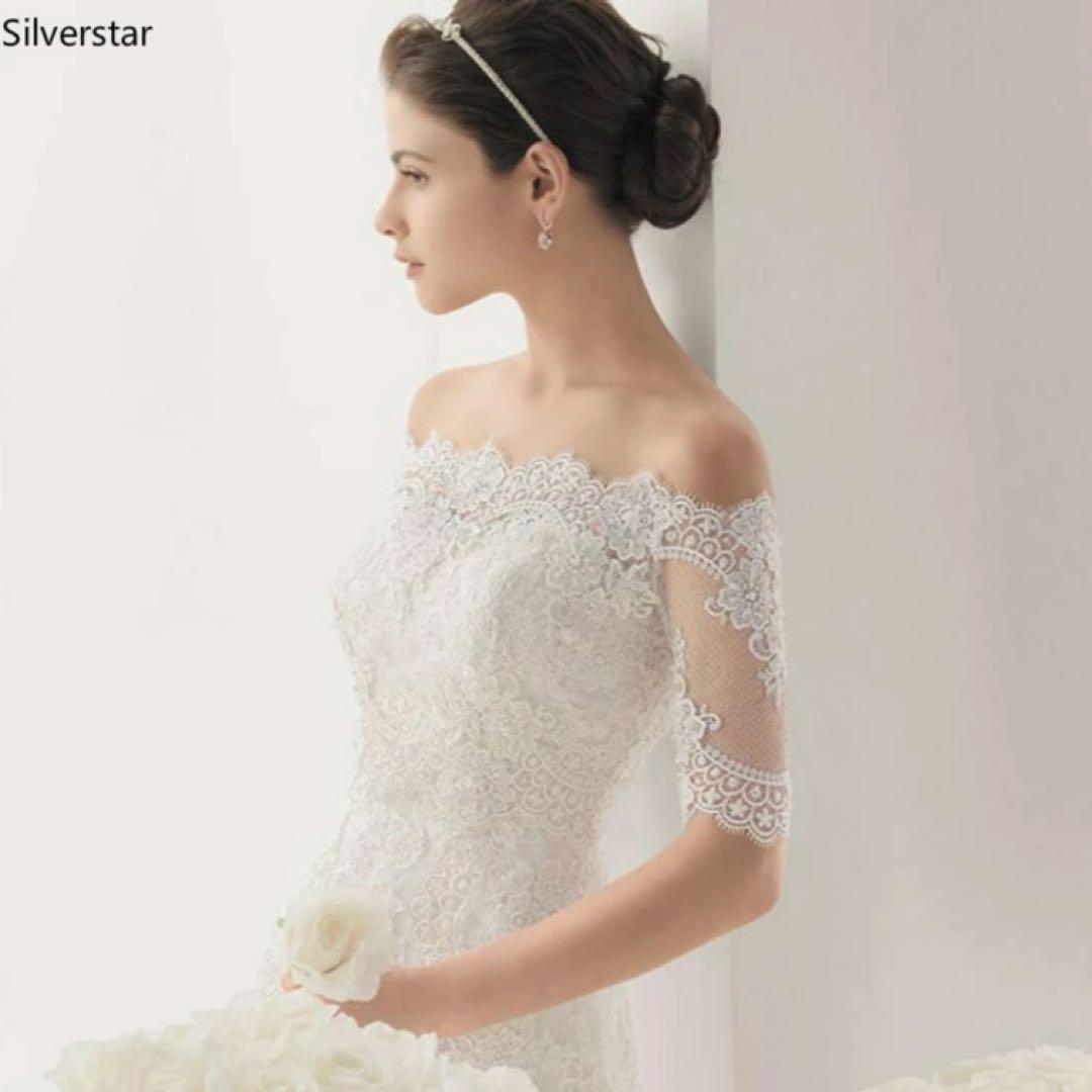 1dbd4449b244e メルカリ - 新品♡ブライダルボレロ ウエディング ショール 結婚式 S ...