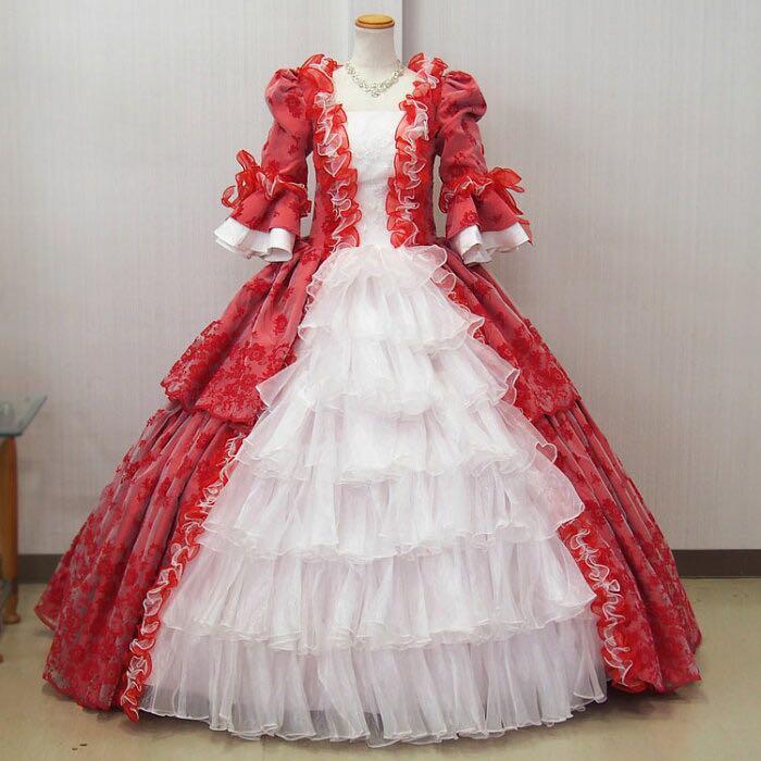 中世貴族 ドレス 姫 コスプレ(¥12,000) , メルカリ スマホでかんたん フリマアプリ