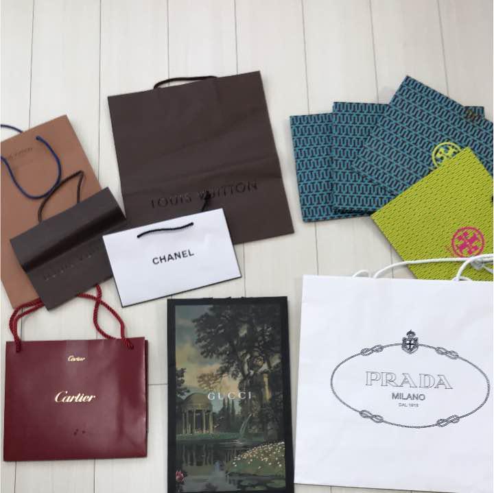 3fceaf52d079 メルカリ - ハイブランドショッパー・紙袋・ショップ袋11枚セット ...