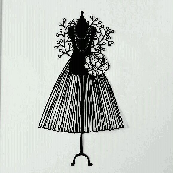 切り絵 ,ハンドメイド ドレス(¥1,000) , メルカリ スマホでかんたん フリマアプリ