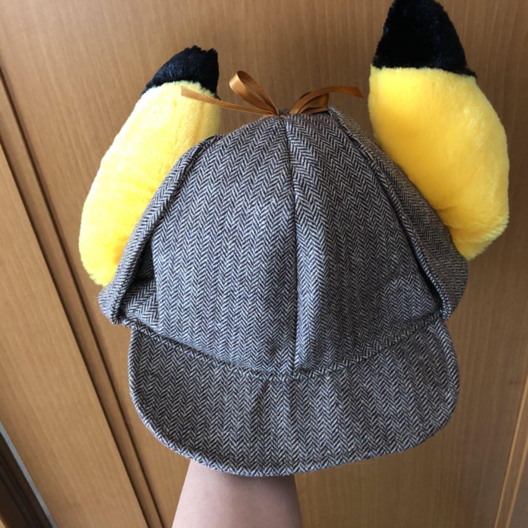 映画「名探偵ピカチュウ」 プレミアム名探偵ピカチュウ帽子