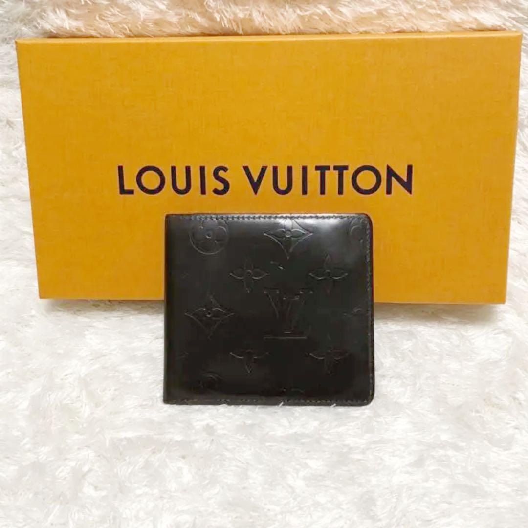 2c3b059bd463 メルカリ - LOUIS VUITTON ルイヴィトン モノグラム 二つ折り財布 【ルイ ...