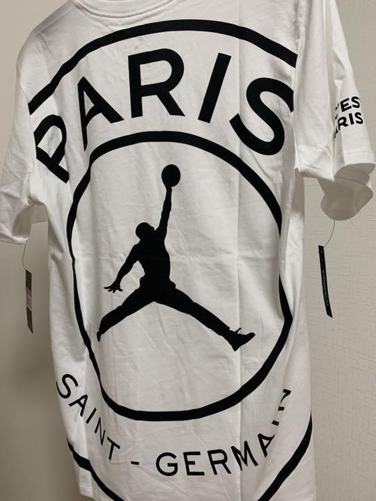 f004d1635 メルカリ - Jordan x PSG BCFC SS Tee 【Tシャツ/カットソー(半袖/袖なし ...