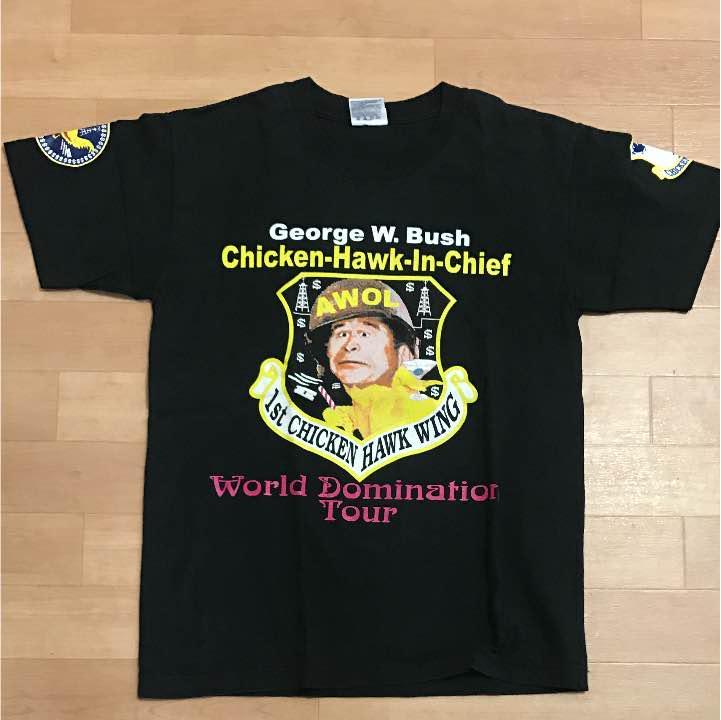 メルカリ - レア チキンホーク ブッシュ大統領 ツアーTシャツ オバマ ...