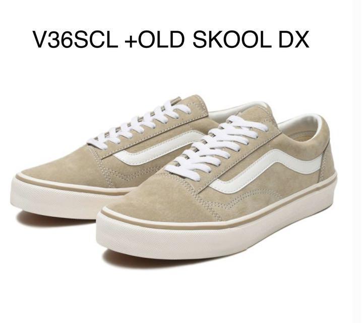 VANS V36SCL+OLD SKOOL DX