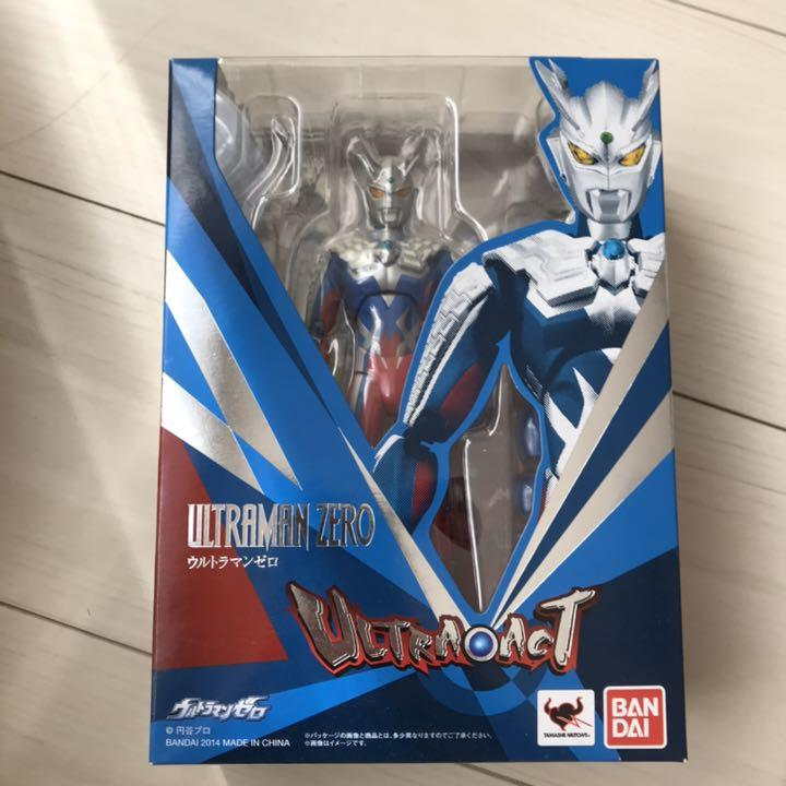 Used ULTRA-ACT Ultraman Zero Dark Darklops Zero Tamashii Web Limited From Japan