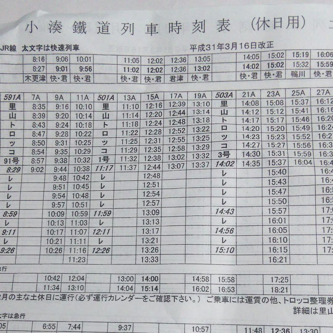 小湊 鉄道 時刻 表