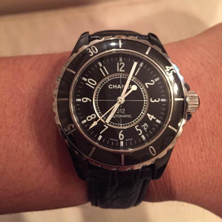 the latest d5a8b bf3a7 【正規品】シャネルJ12腕時計 メンズ CHANEL(¥100,000) - メルカリ スマホでかんたん フリマアプリ
