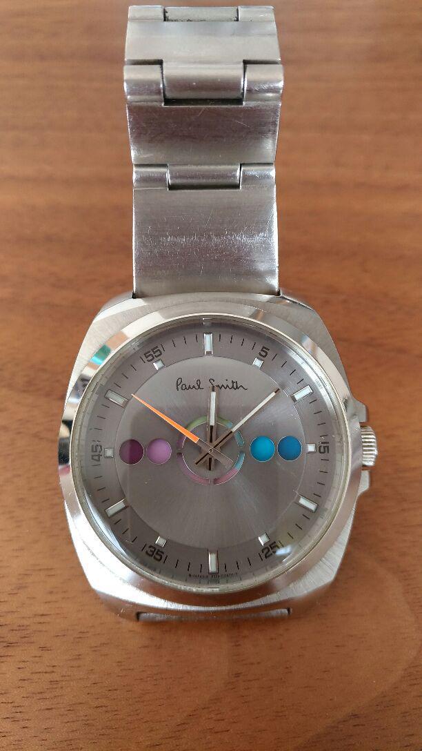 save off fc8cf 21e0a ☆値下げ☆ポールスミス 腕時計 ファイブアイズ 美品 電池交換済(¥11,500) - メルカリ スマホでかんたん フリマアプリ
