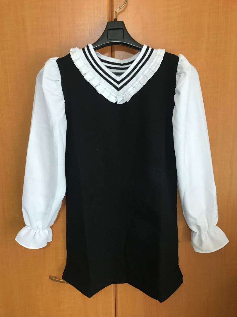 03b5ce164505c メルカリ - 120 小学生 女の子 ワンピース かわいい 韓国子供服 新品 ...