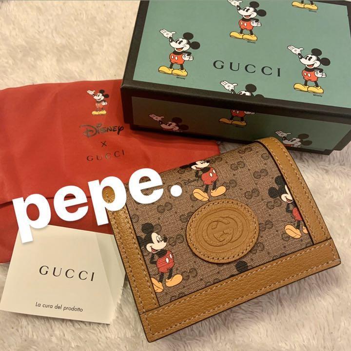 Gucci ミッキー コラボ