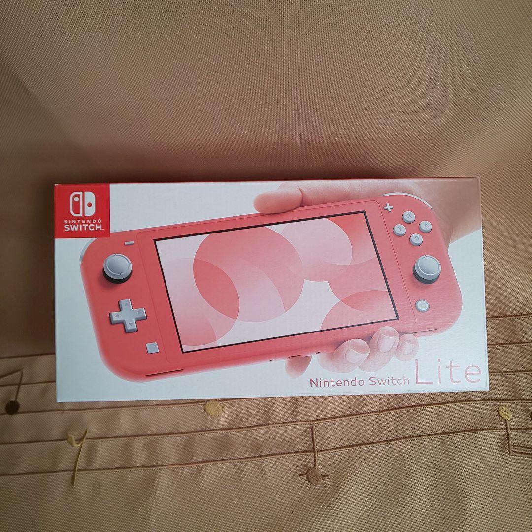 ピンク switch ライト コーラル