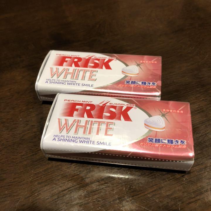 フリスク ホワイト