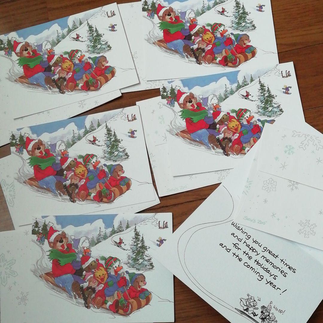 Suzys Zoo Xmas  card set
