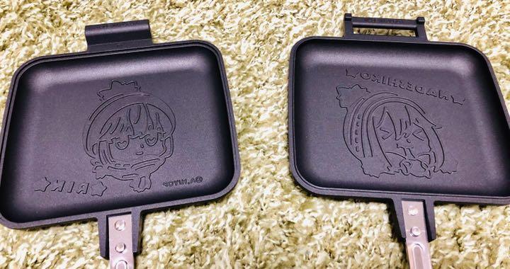 ゆる キャン ホット サンド メーカー 【新製品】ヤマハ×ゆるキャン コラボ「ホットサンドメーカー」が発売