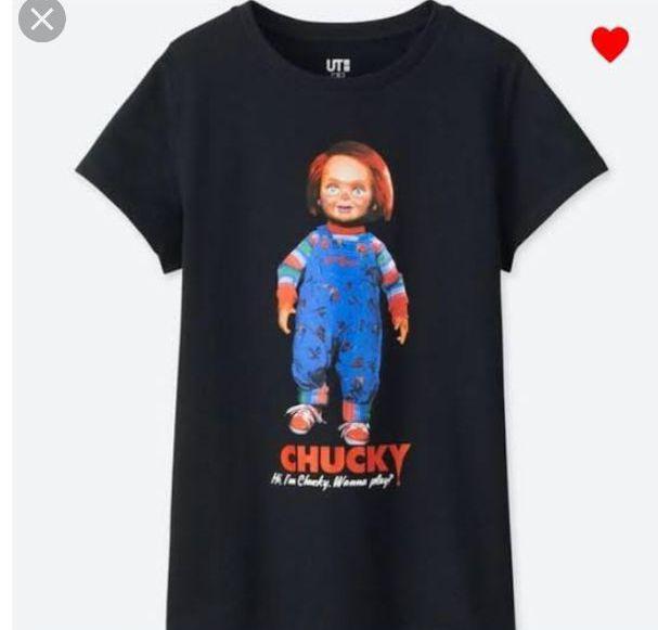 UNIQLO ユニクロチャッキー Tシャツ♡Sサイズ(¥700) , メルカリ スマホでかんたん フリマアプリ